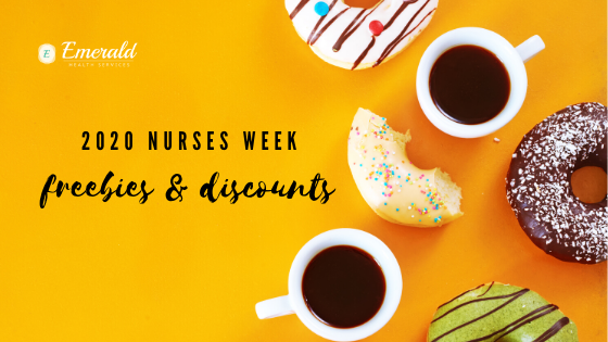 2020 nurses week freebies